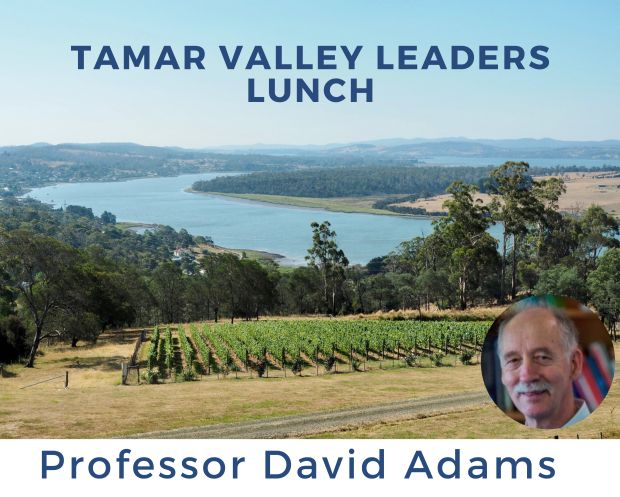 Tamar Valley Leaders Lunch with Prof David Adams